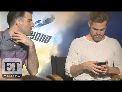 EXCLUSIVE: Zachary Quinto, Chris Pine Learn About Turkey Military Coup Before 'Star Trek' Interview