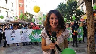 Marcha Mundial Marihuana MADRID 2017 - MMMM2017 - Global Marijuana March SPAIN - NOW11