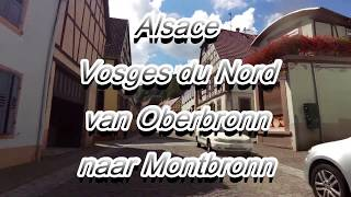 Alsace Vosges du Nord van Oberbronn naar Montbronn Honda Varadero XL 1000 (2017)