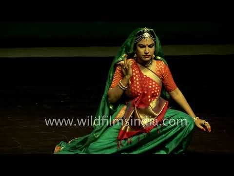 Japanese dance with Kathak and Indian Classical music - rare fusion show