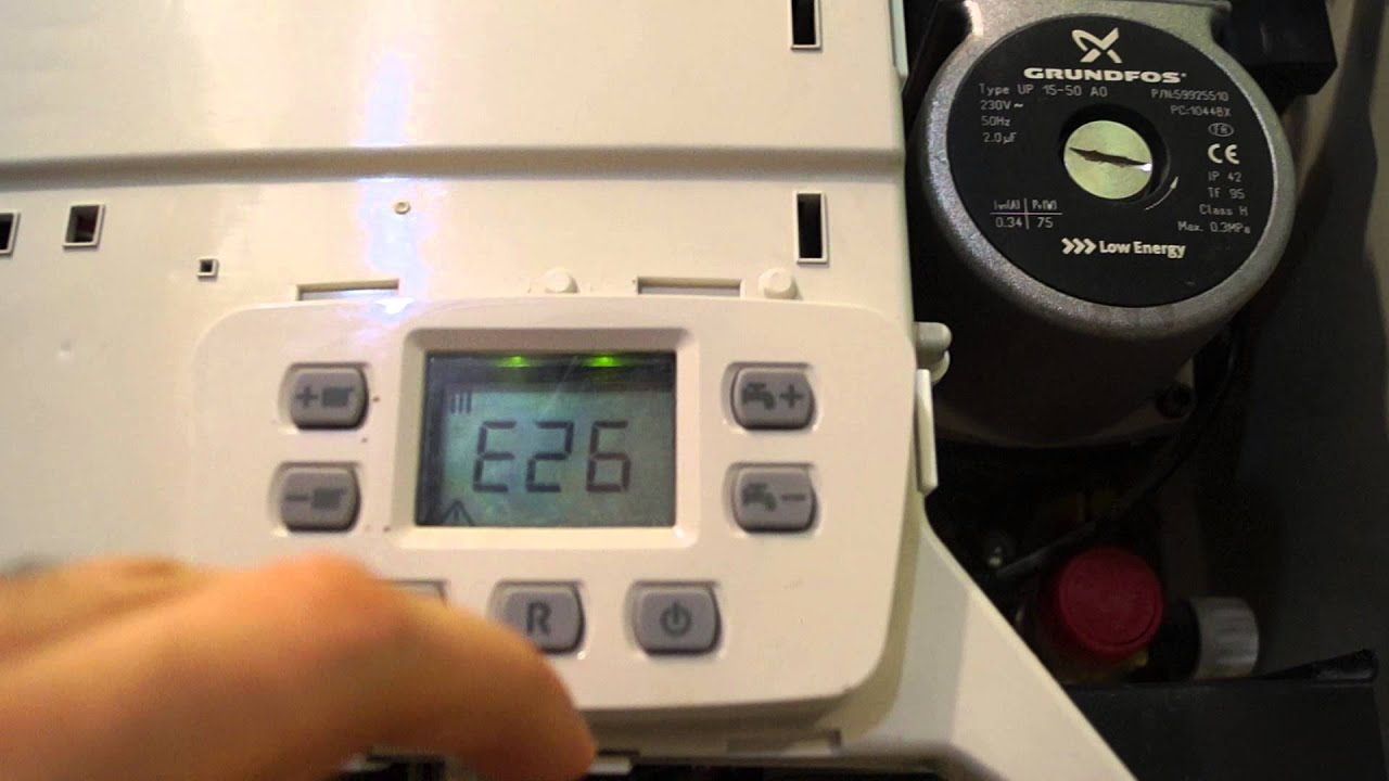 Ошибки в работе котла BAXI ECO FOUR 24 в режиме ГВС. - YouTube