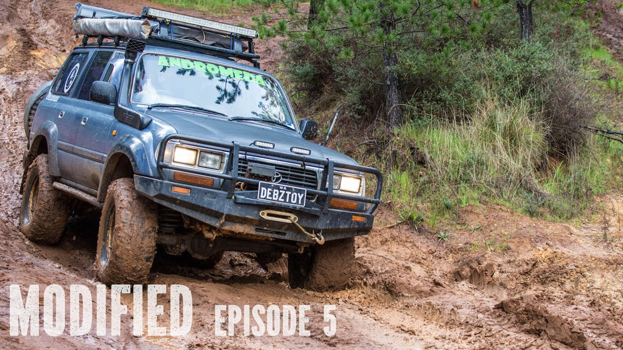 All Toyota Vehicles >> Modified Toyota 80 series Landcruiser, Modified Episode 5 - YouTube