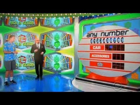 The Price is Right - Any Number - 9/8/2017