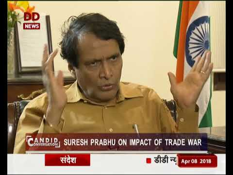 Candid Conversation with union commerce, industry and civil aviation minister Suresh Prabhu