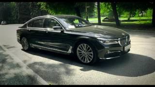 Тест драйв BMW G12 G11 7 series