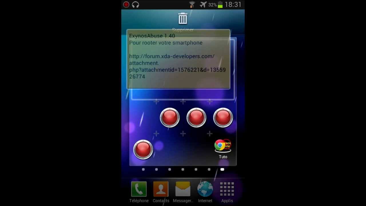 Tuto rooter son smartphone samsung rapidement et facilement - YouTube