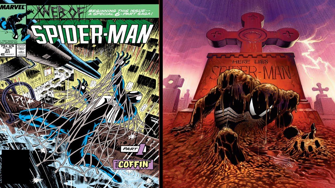 Spider-Man: Kraven's Last Hunt pt.1 - The Coffin - YouTube