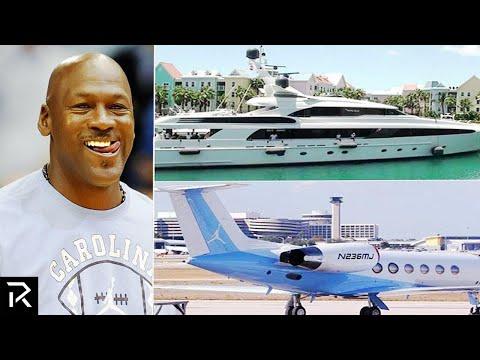 How Michael Jordan Spent $2 BILLION Dollars!