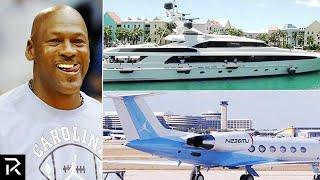 How Michael Jordan Spent $2 BILLION Dollars!