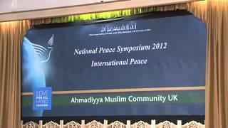 Ahmadiyya Muslim UK Peace Symposium 2012.mp4