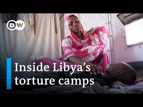 Human trafficking in Libya   DW Documentary