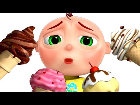 Thumbnail: Five Little Babies Eating Ice Cream | Five Little Babies Collection | Nursery Rhymes | Zool Babies