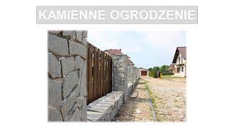 Jak ułożyć kamień na elewacji/ogrodzeniu? Stone on the facade