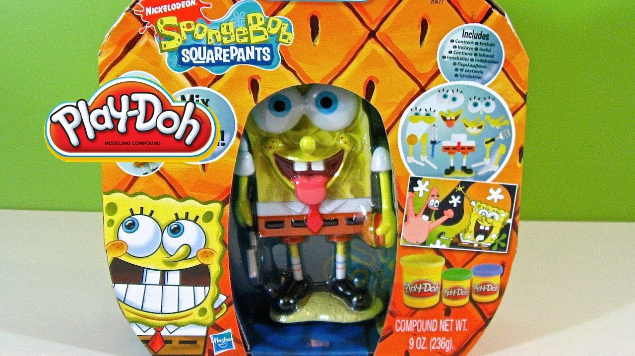 From Play Doh Sponge Bob Nickelodeon bgyf7Y6