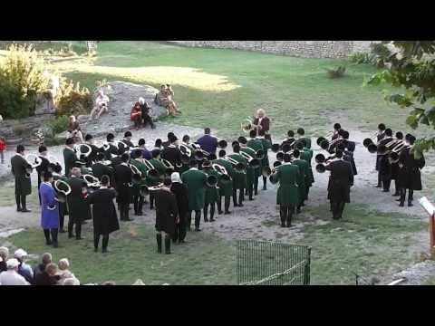 Sévérac le Château : concert de trompes et vénerie
