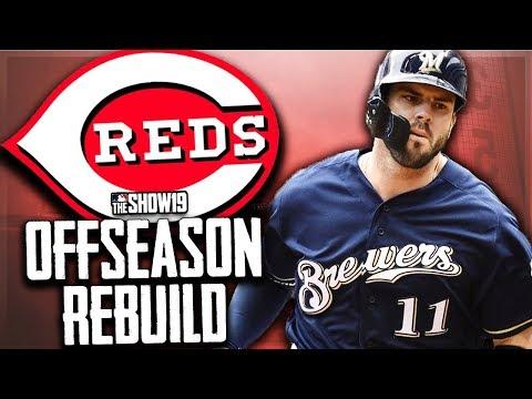 CINCINNATI REDS OFFSEASON REBUILD!! | MLB The Show 19 Franchise