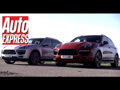 Porsche Cayenne Turbo vs Cayenne Turbo S - Auto Express