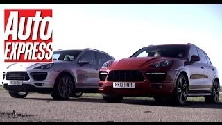 Porsche Cayenne Turbo S 2013 Videos