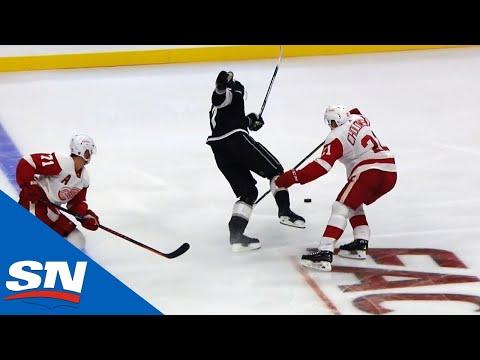 Ilya Kovalchuk's First NHL Point Since 2013 Comes Off Amazing Assist To Anze Kopitar