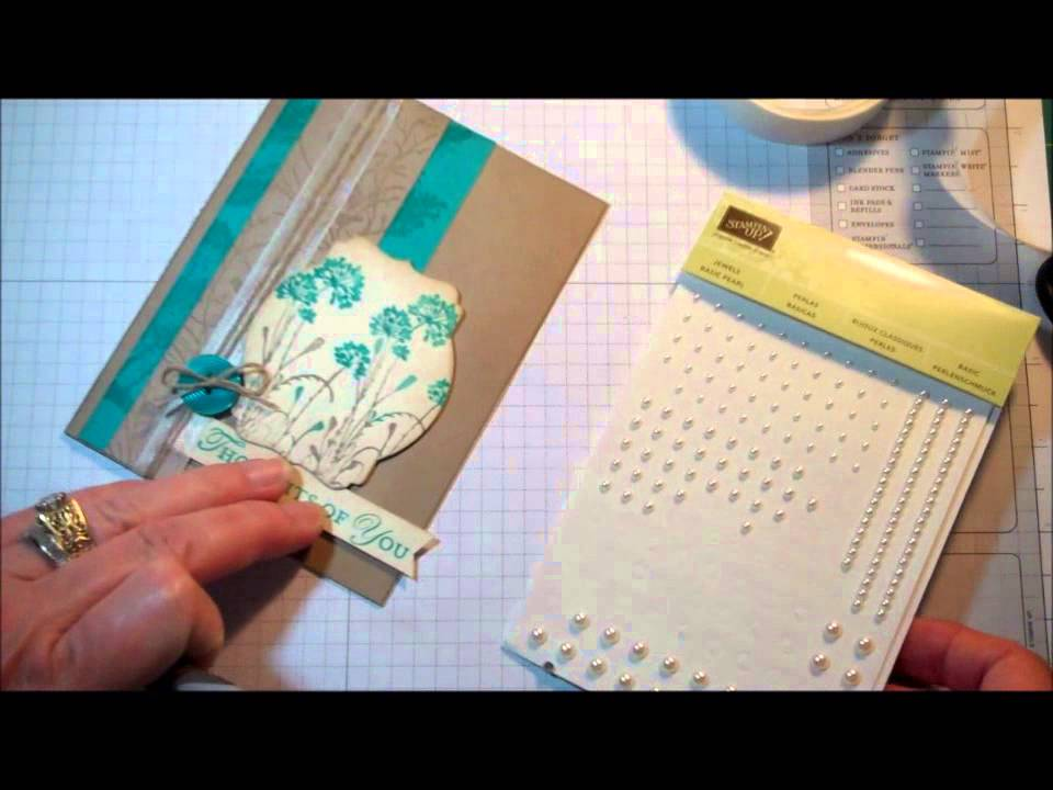 Stampin Up Tool Tip The Paper Piercer Youtube