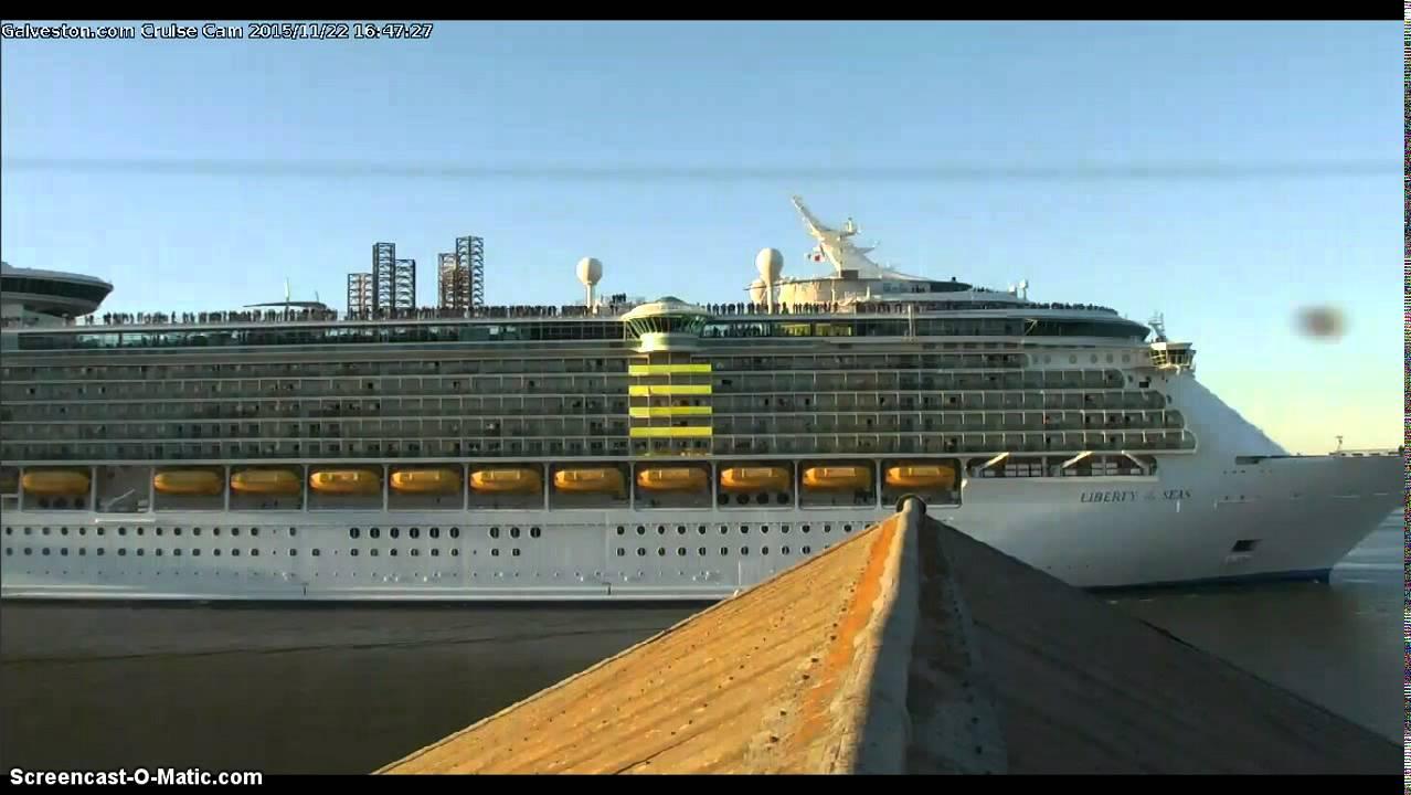Liberty Of The Seas Leaving Galveston YouTube - Liberty of the seas galveston
