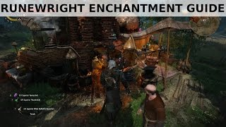 Witcher 3 - Best Runewright Enchanting + Guide
