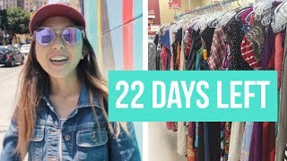LA Fashion District + Thrifting for my Fashion Show | Party Prep 1