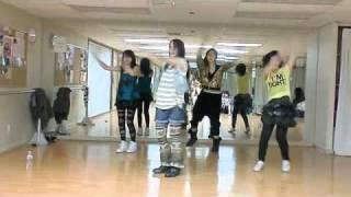 舞孃 Jolin 蔡依林 -  dancing diva MV 舞蹈 教學- Lily H