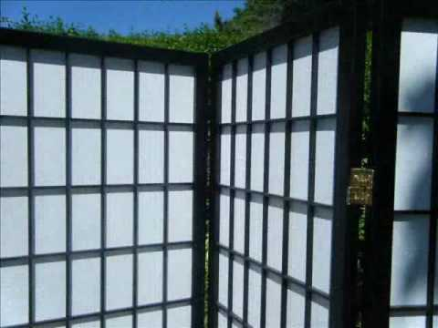 Japanese Shoji Room Divider 4 Panel Screens eBay listing by