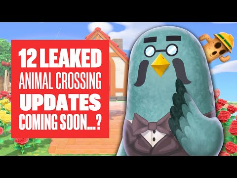 12 Leaked Animal Crossing New Horizons Updates Coming Soon - Animal Crossing Switch Gameplay