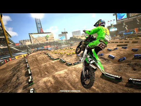 Supercross The Game 3 | First Look Gameplay 2020 ( 4k ) PS4 / XBOX ONE X / PC