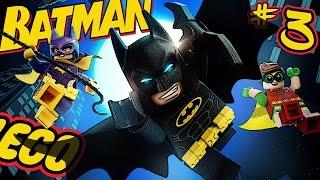 Lego Batman #3 Лего Бэтмен Гоночки на Бэтмобиле. Прохождение МультиPlay игра как мультик для детей