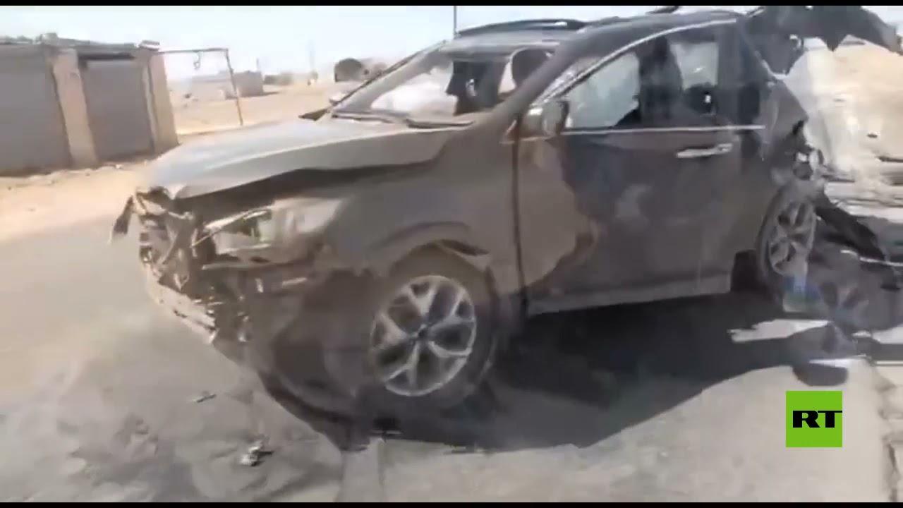 طائرة مسيرة تركية  تستهدف سيارتين في حلب شمال سوريا  - نشر قبل 3 ساعة