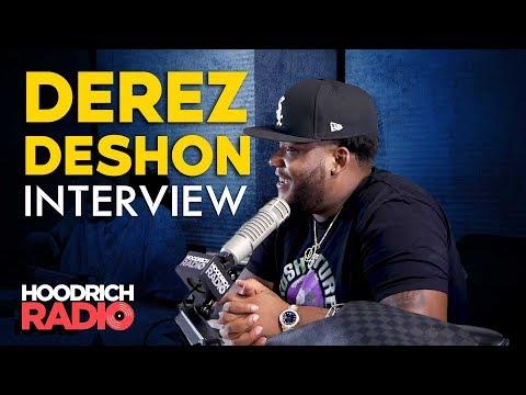 Derez De'shon Interview on Hoodrich Radio with DJ Scream