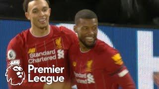 Georginio Wijnaldum heads Liverpool into an early lead vs West Ham | Premier League | NBC Sports
