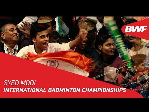 Syed Modi International Badminton Championships | Promo | BWF 2018