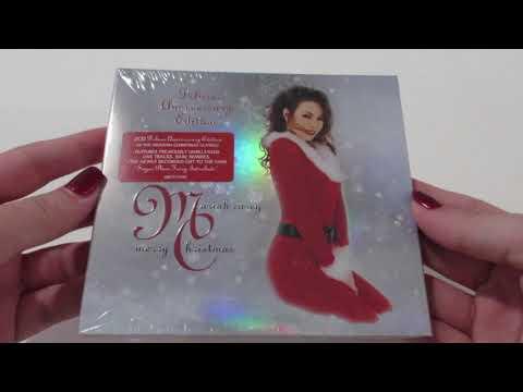 Download Unboxing: Mariah Carey - Merry Christmas Deluxe Anniversary Edition 2-CD Album 2019 Digipak Mp4 baru