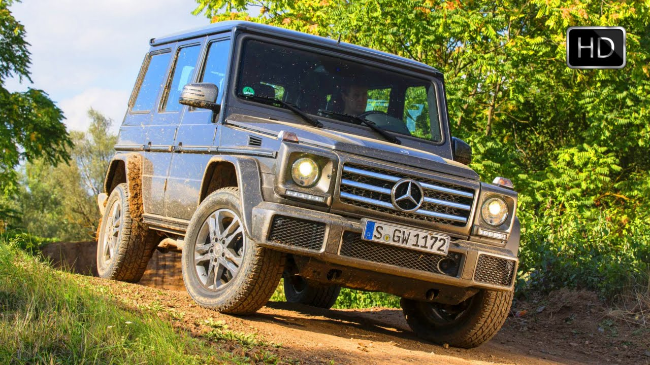 2016 Mercedes Benz G Cl G500 Amg Line Off Road Test Drive Hd You