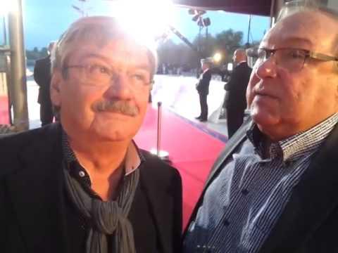 Goldene Henne 2014: Jaecki Schwarz und Wolfgang Winkler grüßen die SUPERillu-Fans