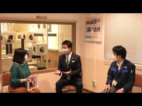 福岡市長高島宗一郎 福岡市ふくおかどうぶつ相談室リニューアル内覧会に出席しました