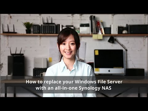 How to replace your Windows File Server with an all-in-one Synology NAS