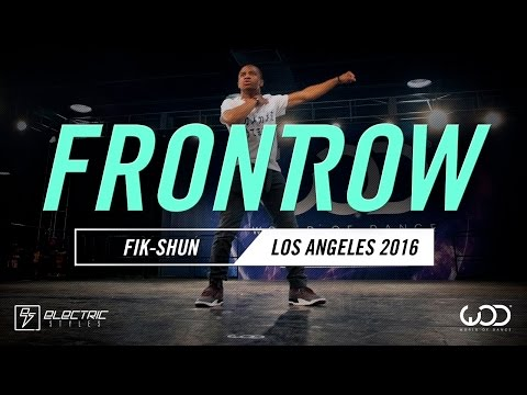 Fik-Shun | FRONTROW | World of Dance Los Angeles...