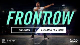 Fik-Shun   FRONTROW   World of Dance Los Angeles 2016   #WODLA16