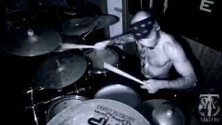 TASTERS - Fight If Your Heart Is Broken (Drum Cam) (OFFICIAL VIDEO)
