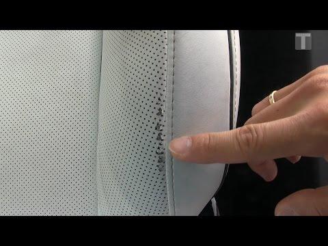 Tesla Model X Ultra White seats after 73k km/45k mi