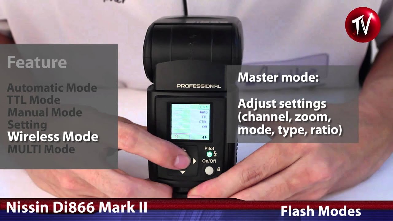 nissin di866 mark ii review youtube rh youtube com  Nissin Flash Di866