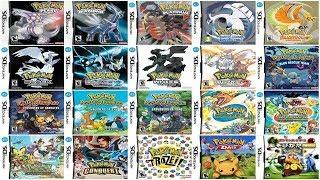 """Descargar Todos los Juegos de """"Pokemon"""" para Nds [Español][Roms][Mega-Mediafire][PocosLinks]"""