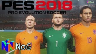 [GAMEPLAY + COMENTARIOS] PES 2018