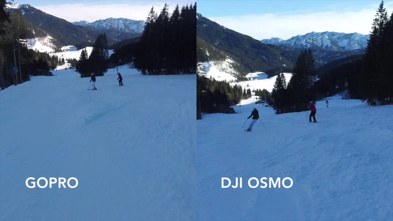 DJI Osmo Vs GoPro Hero 4 Session