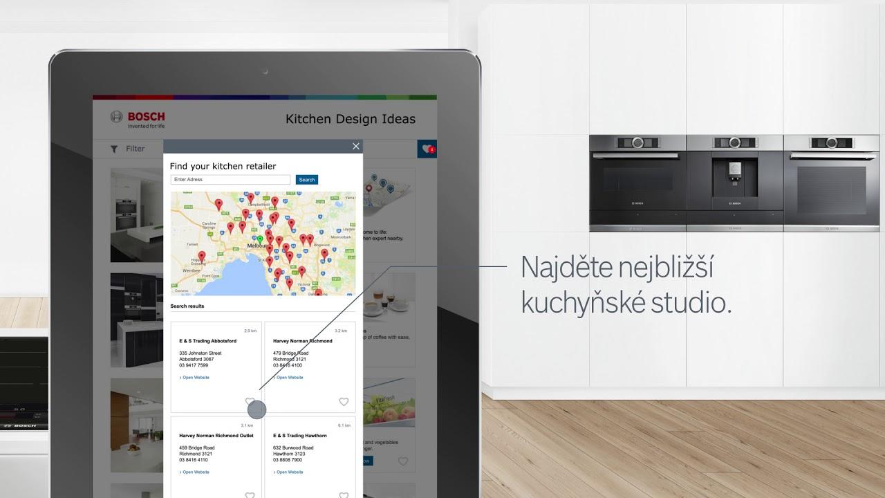 Vítejte na Bosch Kitchen Inspirator